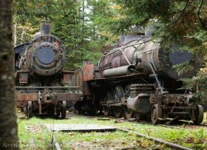 Allagash Wilderness Tramway Engines